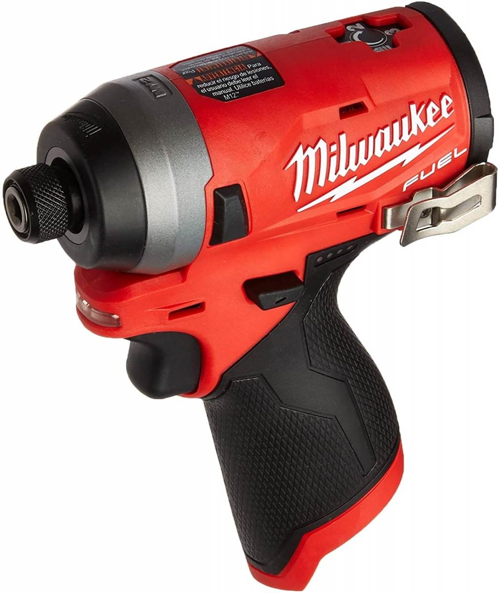 Milwaukee M12 1/4 Brushless Impact Driver in USA