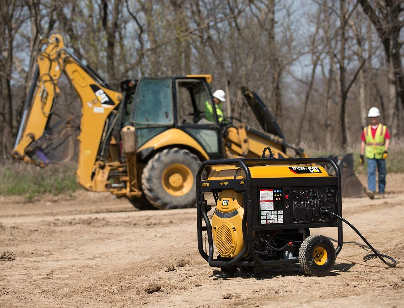 Cat RP12000E Gas Powered portable Generator