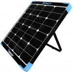 Renogy 50W 12V Eclipse Monocrystalline Portable Solar Panel Built-in Kickstand