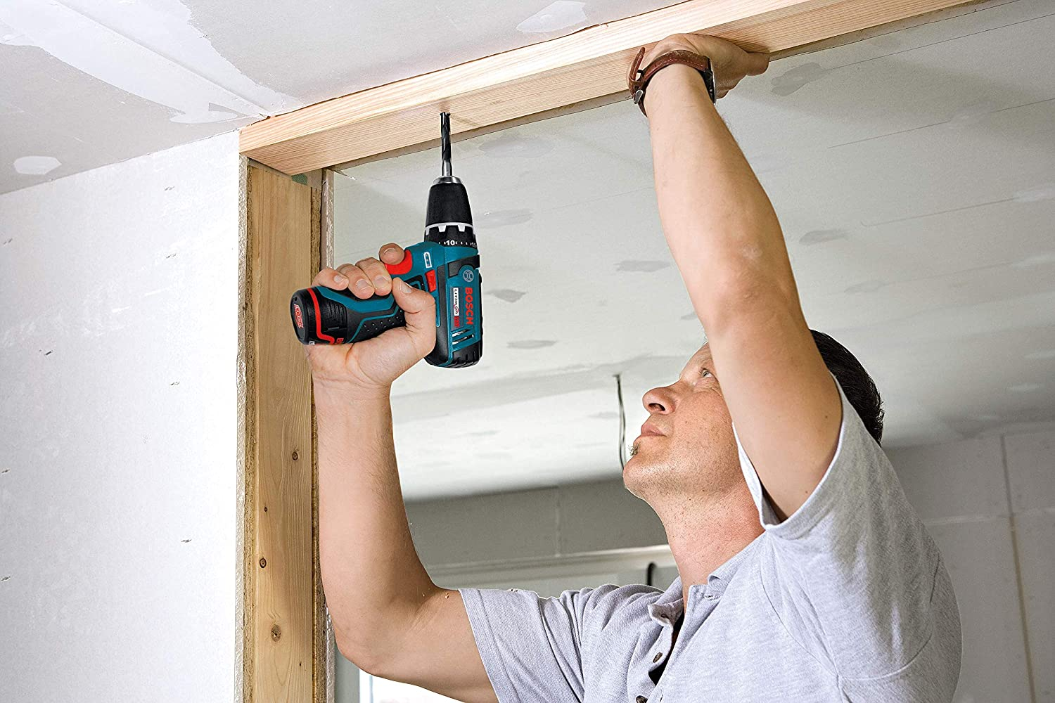 Corded and Cordless Bosch Power Drill