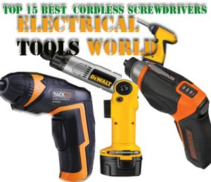 Best Cordless Screwdrivers in 2021